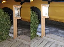 a very bright 1 watt diy led garden light
