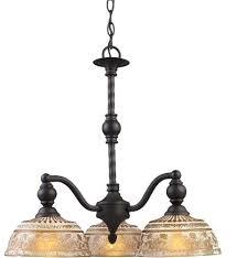 incredible chandeliers elk lighting deep rust 5 light chandelier