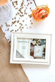 wedding table number frames step 1 prepare your table number frame wedding table numbers silver wedding
