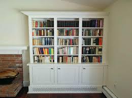 Bookshelves Ideas Shaker Style Bookcase Ideas With White Theme Maintenance