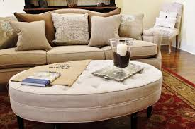 restoring a round coffee table ottoman inside houses shocking combo decor com