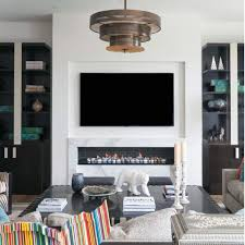 linear fireplace idea inspiration