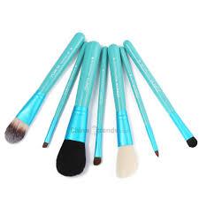 7pcs luxury soft synthetic cosmetic brushes with barreled box