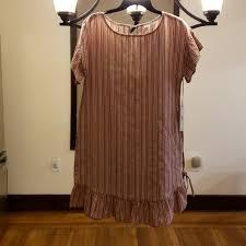 Dillards Junior Size Chart June Dillard Striped Dress Juniors Nwt