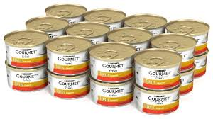 Купить <b>Корм для кошек Gourmet</b> Голд с говядиной 24шт. х 85 г ...