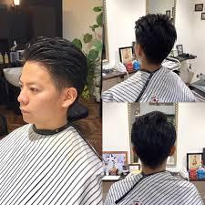 ツーブロック七三ソフトオールバック 藤枝焼津メンズ専門美容院
