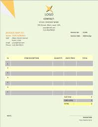 Simple Invoice Template – Invoice Template Word