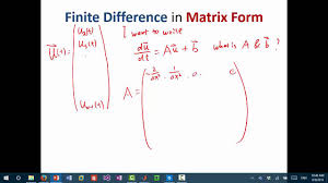 mit numerical methods for pde lecture 1 finite difference solution of heat equation