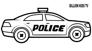 Coloring Pages Professional Police Car Coloring Pages Colors For