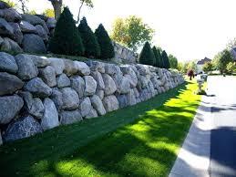 rock retaining wall ideas 3 4 man rock retaining wall small rock retaining wall ideas