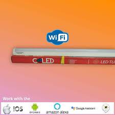 Wifi Tube Light Coooled Smart Wifi Led Tube Light 22 Watt T8 Batten Aluminium White