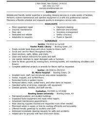 Sample Of 13 Custodian Job Description For Resume Maximize Your