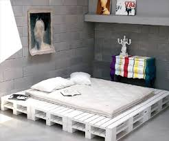 buy pallet furniture. diy pallet white platform bed haha this is funny my fianc had a because he didnu0027t want to buy frame furniture