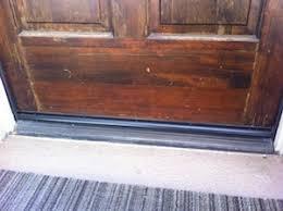 front door thresholdWhere to caulk front door threshold  DoItYourselfcom Community