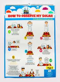 Solah Chart For Gradeschooler 6 To 12 Years Old