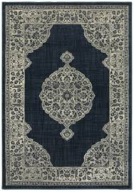 sphinx oriental weavers area rugs linden rugs 7937a casual navy medallion rugs rugs by pattern free at powererusa com