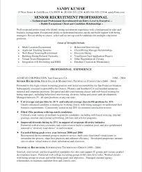 Hr Recruiter Resume