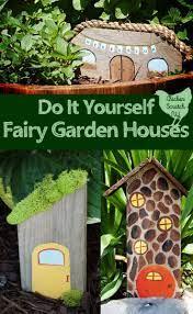 easy diy garden fairy houses