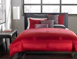 gray and red bedroom. polished passion: 19 dashing bedrooms in red and gray! gray bedroom