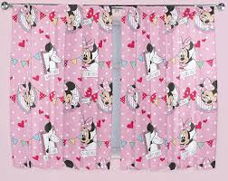 Mickey Mouse Bedroom Curtains Disney Minnie Mouse Cafe Curtains 66034x54034 Or 66034