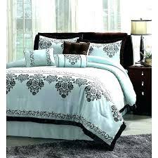 blue bed sets blue and brown comforter sets king brown and blue comforter sets blue brown