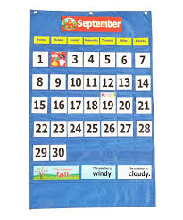Calendar And Weather Pocket Chart Take A Look At This Pacon Calendar Weather Pocket Chart On