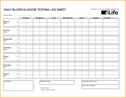Blood Sugar Levels Including Printable Chart 027 Template Ideas Blood Sugar Log Sheet Excel Fresh