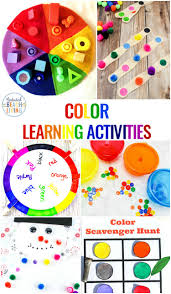 Coloring can be quite a recreational activity for your children moreover coloring can also bring some physical. 25 Preschool Color Activities Printables Learning Colors Printables Natural Beach Living
