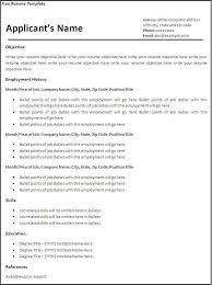 Create Free Printable Resume Resume Examples Printable Examples Printable Resume