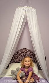 Easy DIY Princess Canopy | Toddler bed, Canopy and Google search