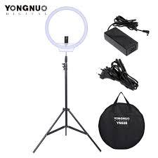 <b>YONGNUO YN128</b> Selfie Ring Light Camera Photo Studio Phone ...