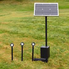 flexible and powerful remote solar panel rsp landscape lighting system