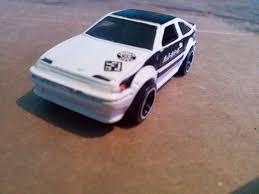 1/64 Hot Wheels City Rides Nightburnerz Toyota Corolla Ae86 - Bs ...