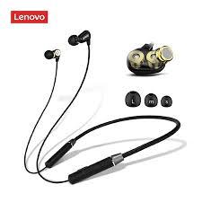 <b>Lenovo HE08 Wireless</b> Headphones Mini Smart 5.0 In-Ear Music ...