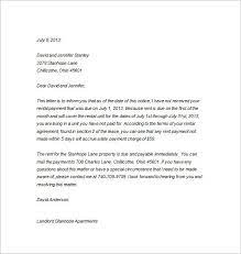 6 tenancy notice templates pdf doc