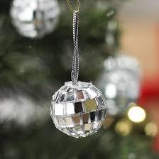 Decorative Disco Ball Adorable Miniature Mirrored Mosaic Disco Ball Ornaments Christmas Ornaments
