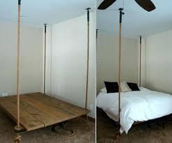 hanging bed frame hanging bed the hanging bed hanging bed frame plans outdoor hanging bed frame