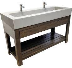 double faucet bathroom sink vanity. double faucet trough sink vanity set with style sinks design element undermount . vanities bathroom