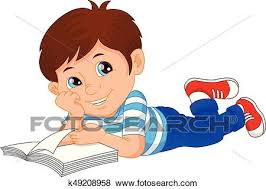 clip art cute little boy reading book fotosearch search clipart ilration posters