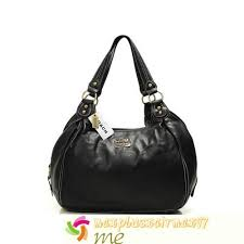 Coach City Medium Hobo Black