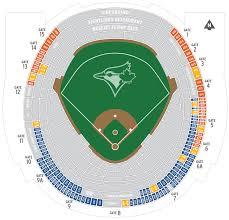 Rogers Stadium Toronto Seating Chart Right Rogers Stadium Seating Toronto Blue Jays Stadium