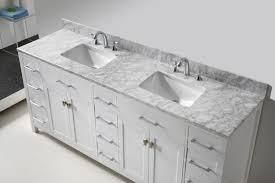 double sink bathroom vanity cabinets white. virtu usa caroline parkway 78 double bathroom vanity set in white sink cabinets