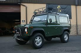 1997 land rover defender 90. 1997 land rover defender 90 2dr station wagon hardtop original paint prestine condition s