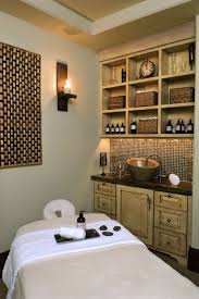 spa room for mountain home massageroom