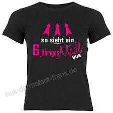 Tini Shirts 6geburtstag Sprüche T Shirt Kindergeburtstag Mädchen
