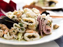 Italian Seafood Salad (Insalata di Mare ...