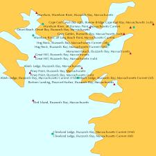 Abiels Ledge Buzzards Bay Massachusetts Current 3d