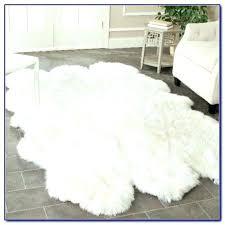 white faux sheepskin rug exotic hide rug white fur rug cowhide rug black and white white white faux sheepskin rug