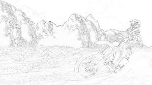 Have pastels and also other. 10 Free Dirt Bike Coloring Pages For Kids Save Print Enjoy