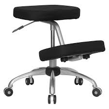 ergonomic kneeling office chairs. Modren Chairs Ergonomic Kneeling Posture Office Chair Black Throughout Chairs